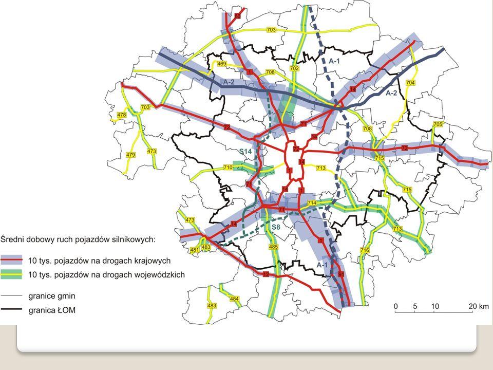 Kluczowym, dla spójności przestrzennej, elementem infrastruktury technicznej jest sieć dróg kołowych, zróżnicowana pod względem układu geometrycznego, gęstości i dostępności węzłów, kategorii funkcjonalnych, a także sposobu, w jaki poszczególne drogi są powiązane ze sobą, siecią osadniczą oraz z przyległym obszarem [Towpik et al. 2006]. Aby spełniała ona swoją rolę w sposób zadowalający, drogi poszczególnych kategorii powinny cechować się odpowiednią przepustowością, nośnością oraz stwarzać bezpieczne warunki do ruchu pojazdów.